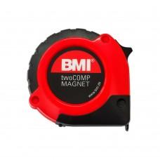Рулетка измерительная BMI TAPE twoCOMP MAGNETIC 8 M